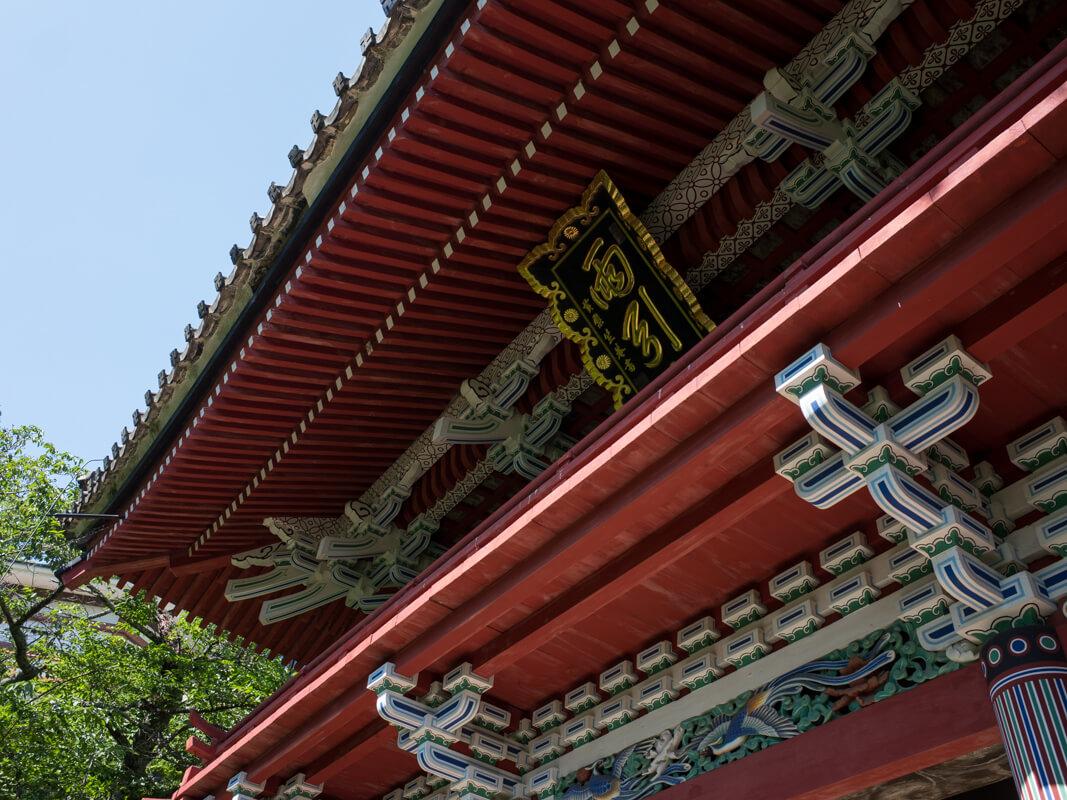 雨引観音の仁王門
