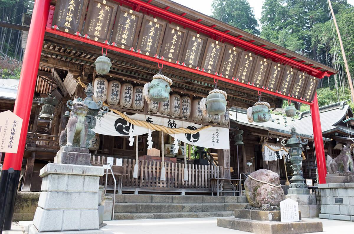 大平山神社の本殿